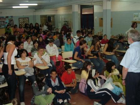 Entrega de premios Concurso literario 2008