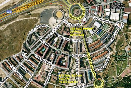 Plano-satelite-IES-luis-buñuel