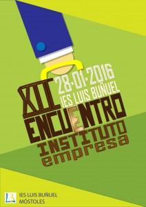 Alicia Martín  CARTEL SELECCIONADO para ser impreso y representar el Encuentro Instituto Empresa 2015 2016