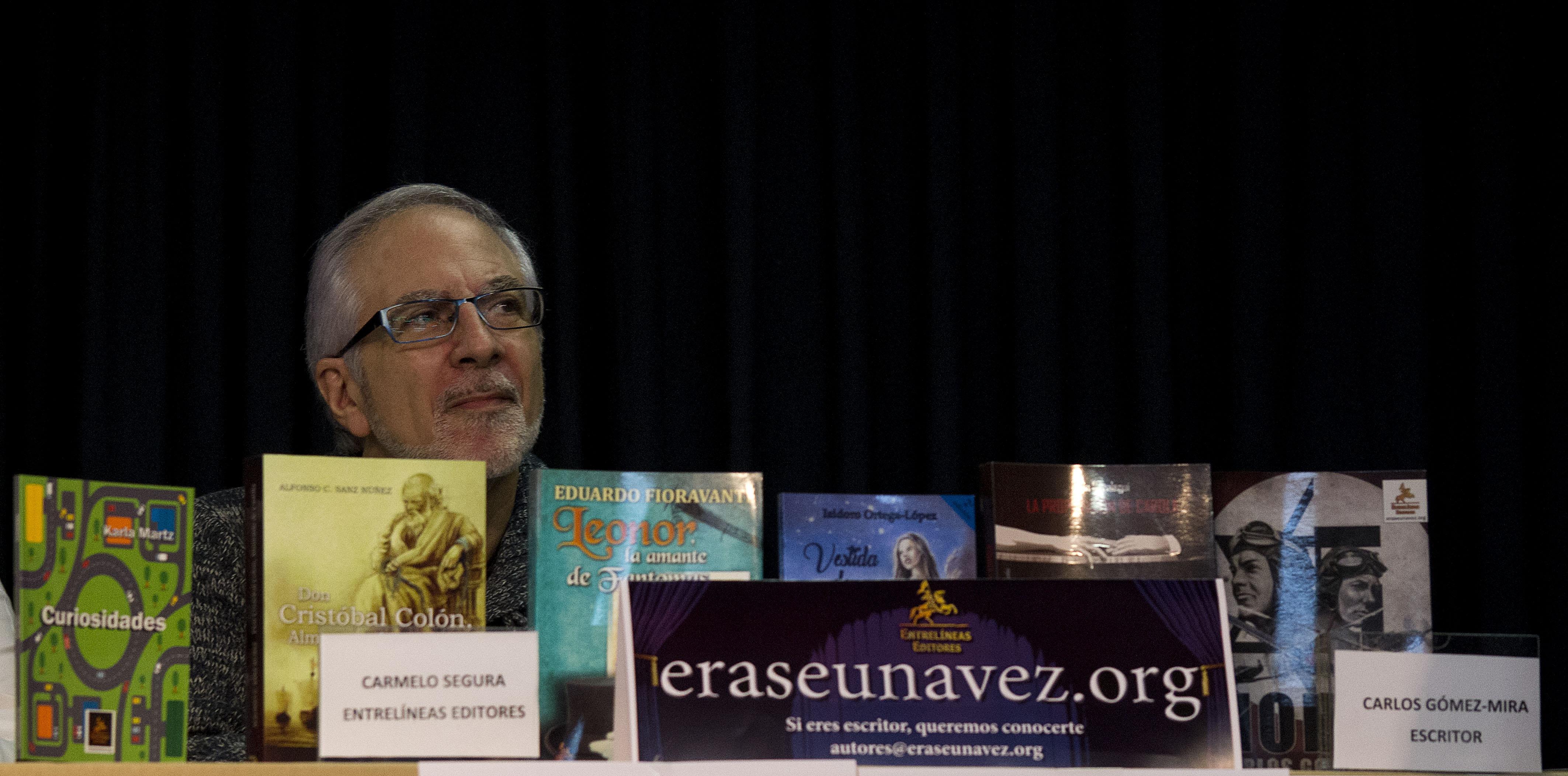 Carmelo Segura, empresa Entrelíneas Editores