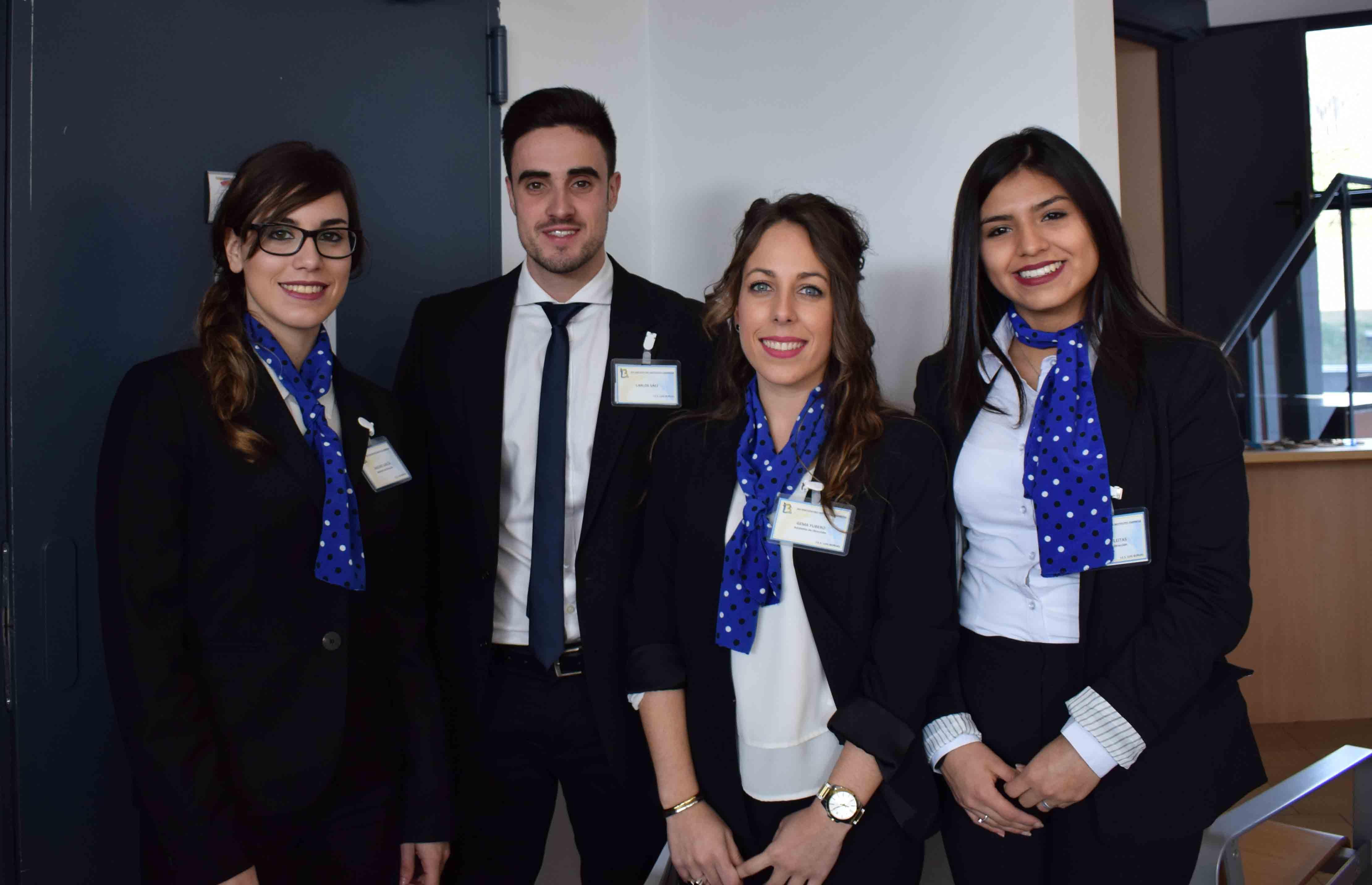 Nagore García,  Carlos Sáez, Gema Yubero, Jessica Fleitas