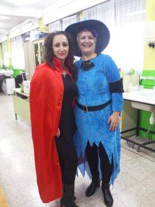 Profesoras Vanesa e Isabel