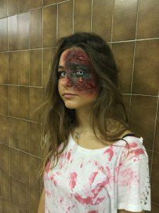 Halloween 1°A de Estética y Belleza de Grado Medio